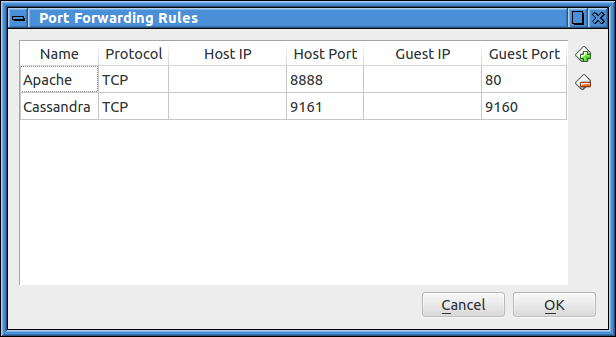 Cannot connect my Host system to Cassandra running on my Guest VM
