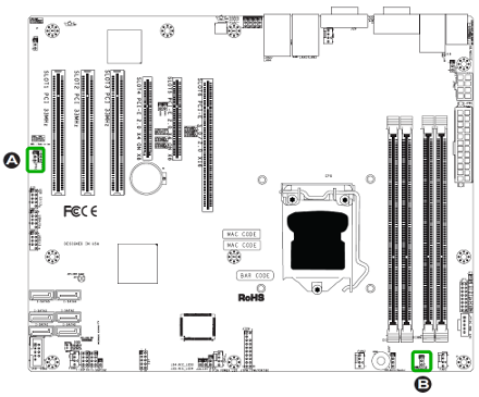 X9SCI/X9SCA motherboard
