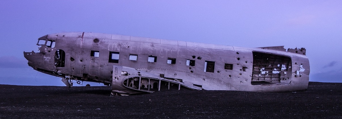 Old Broken Plane, reminds me of old broken modules in Drupal...