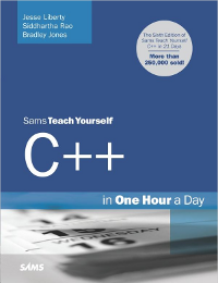 Sams Teach Yourself C++