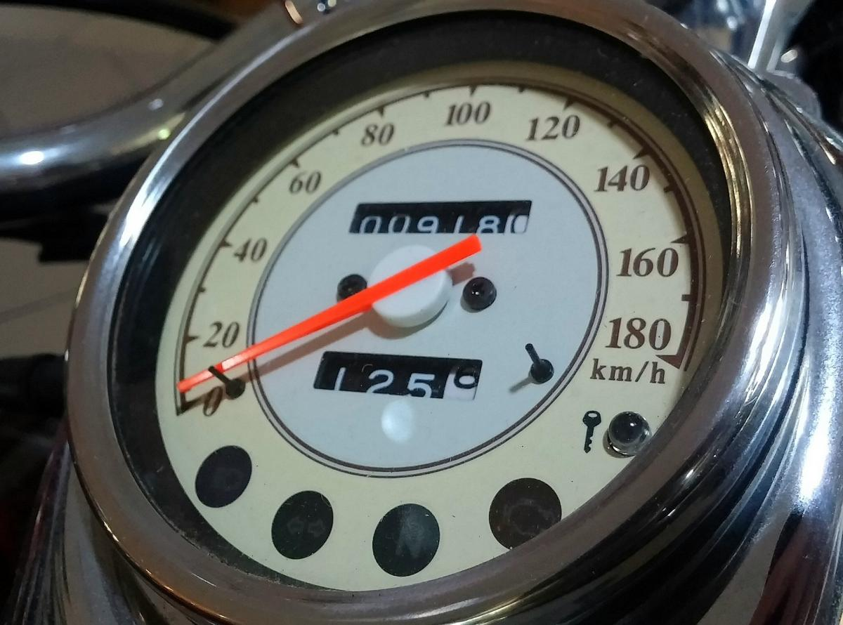 Stylish Motorbike Speedometer
